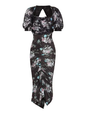 Preen by Thornton Bregazzi gizzy floral midi dress