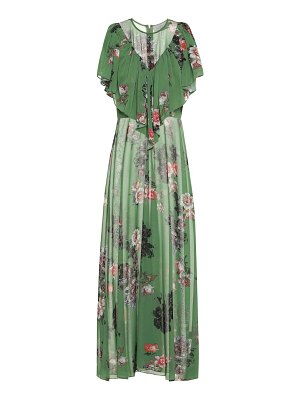 Preen by Thornton Bregazzi irisa floral georgette maxi dress