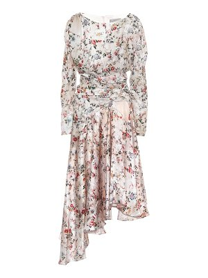 Preen by Thornton Bregazzi kay floral satin dress