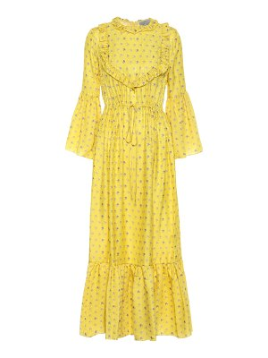 Preen by Thornton Bregazzi tessa jacquard midi dress