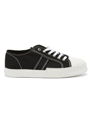 PRIMURY divid recycled cotton-canvas trainers