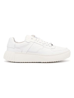 PRIMURY frank panelled nappa-leather trainers