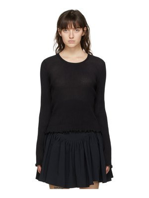 PRISCAvera pleated long sleeve top