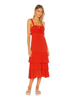Privacy Please lucille maxi dress