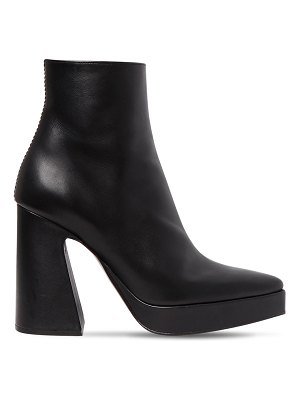 Proenza Schouler 105mm leather platform ankle boots