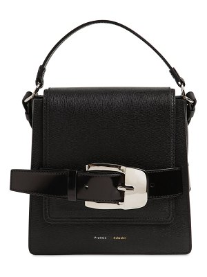 Proenza Schouler Buckle trapeze grained leather bag