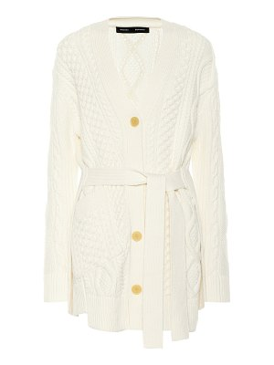 Proenza Schouler cable-knit wool cardigan