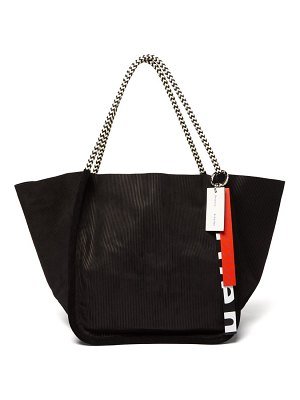 Proenza Schouler extra large rope handle corduroy tote