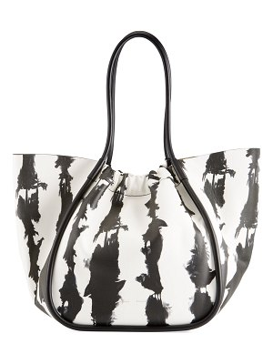 Proenza Schouler Extra Large Ruched Tie-Dye Tote Bag