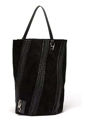 Proenza Schouler Hex Large Suede Bucket Bag