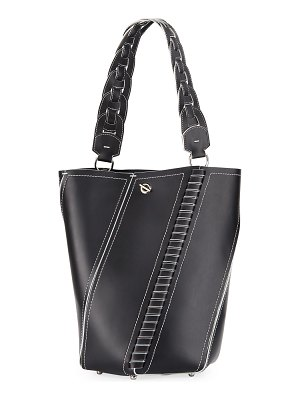 Proenza Schouler Hex Leather Medium Bucket Bag