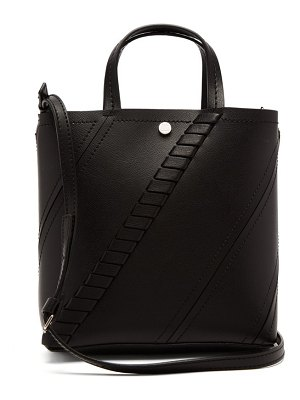 Proenza Schouler hex small leather tote bag