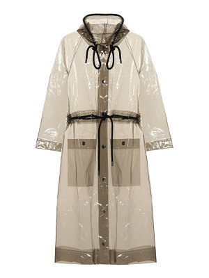 Proenza Schouler hooded rain jacket
