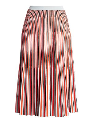 Proenza Schouler jacquard knit striped skirt