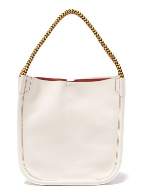 Proenza Schouler l tote woven handle leather bag