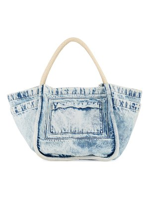 Proenza Schouler Large Denim Tote Bag