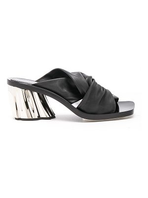 Proenza Schouler Leather Knot Heeled Sandals