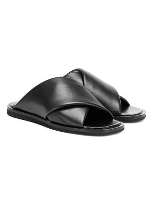 Proenza Schouler leather slides