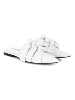 Proenza Schouler leather slippers