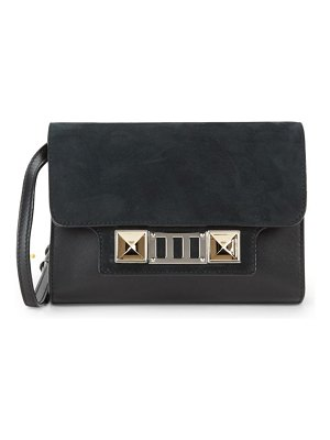 Proenza Schouler Logo Leather Mini Shoulder Bag