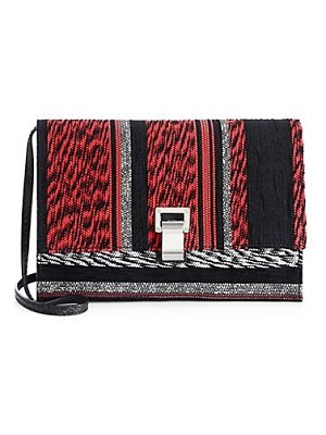 Proenza Schouler mixed woven shoulder bag
