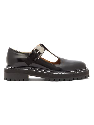 Proenza Schouler patent-leather mary-jane loafers
