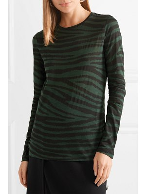 Proenza Schouler printed cotton-jersey top