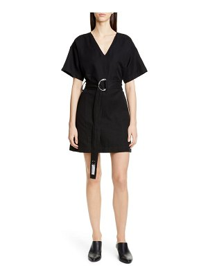 PROENZA SCHOULER WHITE LABEL belted a-line minidress