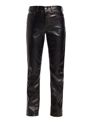 Proenza Schouler PSWL faux leather straight pants