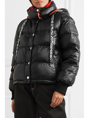 Proenza Schouler pswl reversible hooded quilted-shell jacket