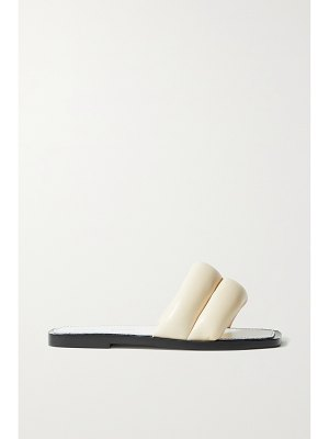 Proenza Schouler puffy quilted leather slides