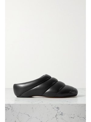 Proenza Schouler rondo quilted leather slippers