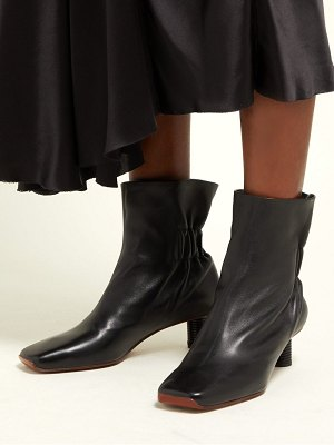Proenza Schouler ruched back leather ankle boots
