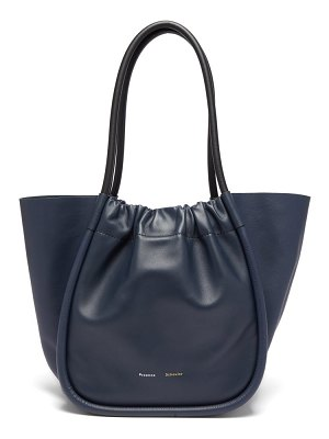 Proenza Schouler ruched l leather tote bag