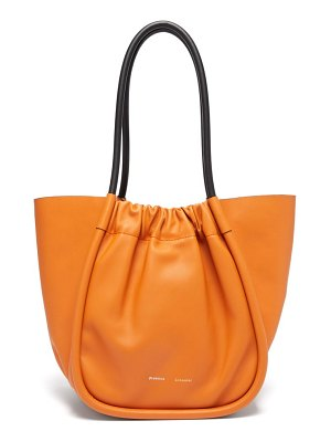 Proenza Schouler ruched l leather tote