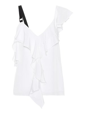Proenza Schouler Ruffled silk top