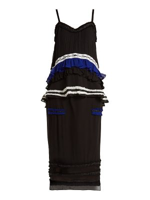 Proenza Schouler Ruffled silk two-piece dress