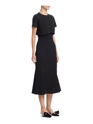 Proenza Schouler short sleeve popover dress