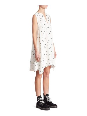 Proenza Schouler Silk Trapeze Dress