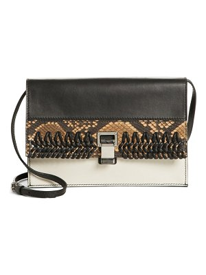 Proenza Schouler small lunch bag leather clutch