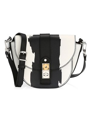 Proenza Schouler small ps11 leather saddle bag