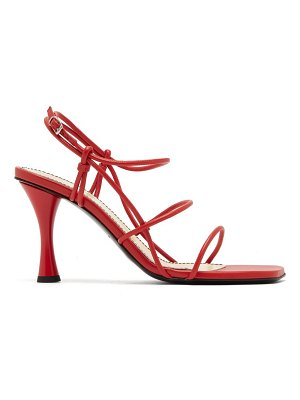 Proenza Schouler square-toe leather sandals