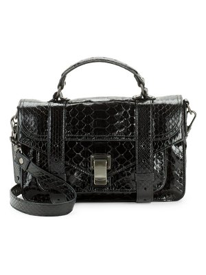 Proenza Schouler Textured Leather Shoulder Bag