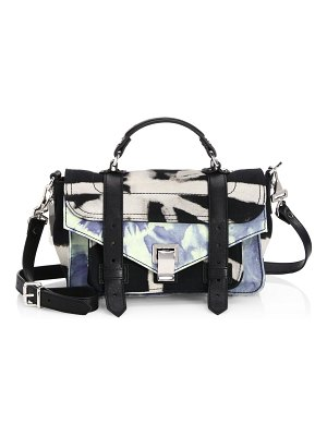 Proenza Schouler tiny denim satchel