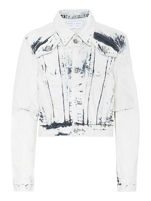 Proenza Schouler cropped denim jacket