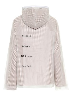 Proenza Schouler pvc and cotton jacket
