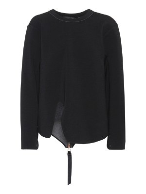 Proenza Schouler wool and cotton sweater