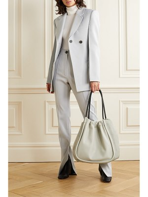 Proenza Schouler xl ruched leather and suede tote