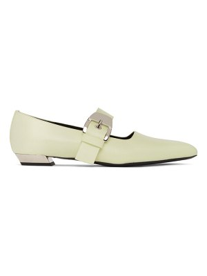 Proenza Schouler yellow mary jane slip-on loafers