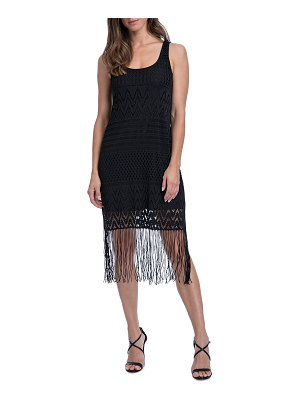 Profile By Gottex Sea Breeze Fringe Coverup